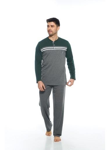Estiva Pijama Takım Yeşil
